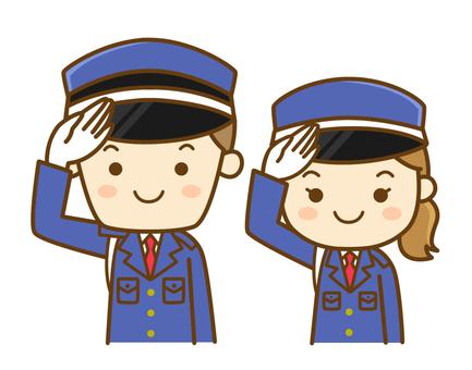 Salute guards