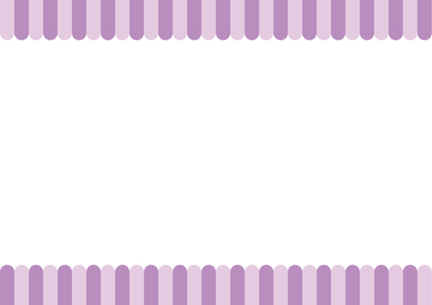 Frame - Two under the eaves - Purple