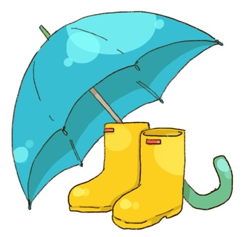 ながぐつと傘