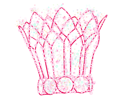 Star's Tiara Pink 2