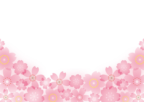 Cherry blossoms in various colors
