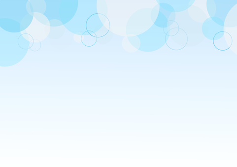 Fresh water bubbles background
