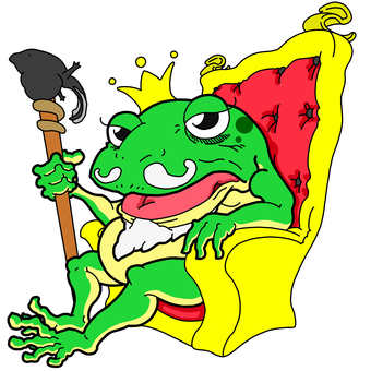 King of the frog