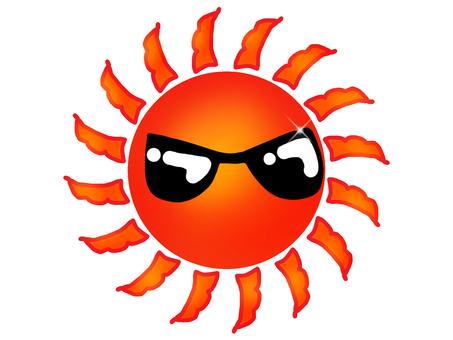 선글라스 태양 10