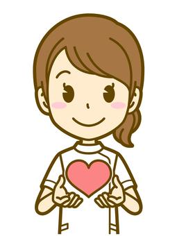 Female (nurse): B_ Heart 01BS