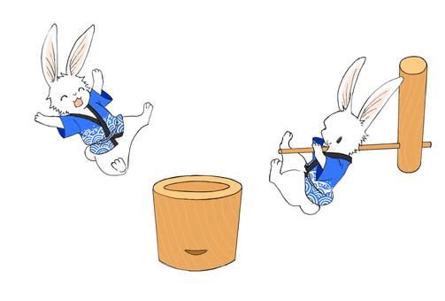 Happy Rabbit (No Background)