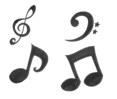 Musical note tokyo symbol