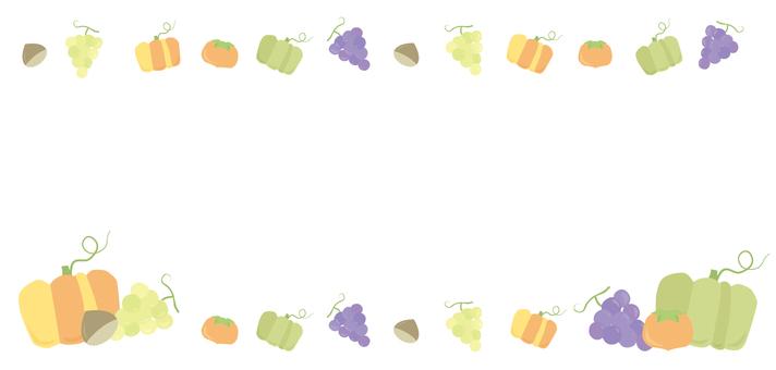 가을 장식 프레임 13
