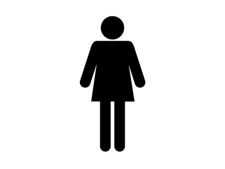 People silhouette women