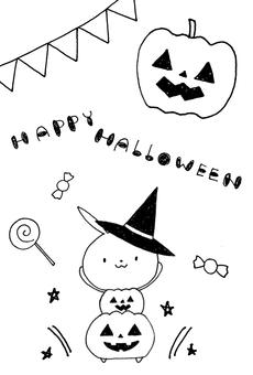 Halloween rabbit 7