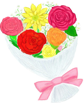 Spring color bouquet 01