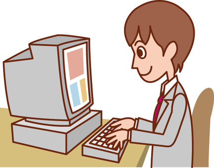 पुरुष / वेतनभोगी कर्मचारी कंप्यूटर