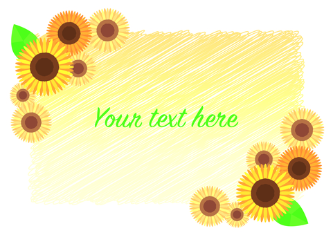Summer _ Sunflower _ Frame _ 02