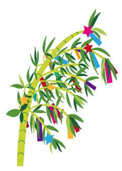 Tanabata bamboo leaves