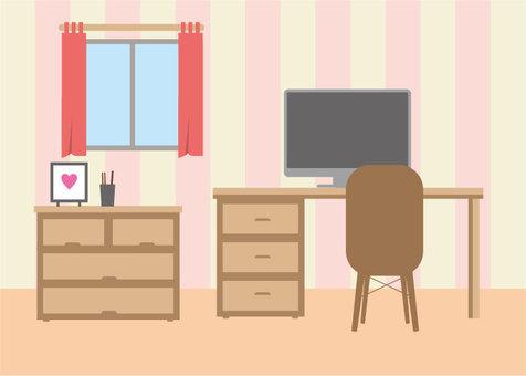 Interior room illustration 2