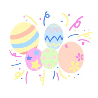 Easter character without logo