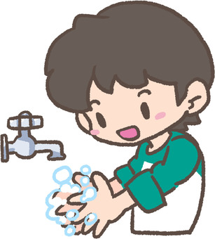 Let's wash your hands! (Soap)