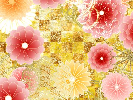 菊花圖案3