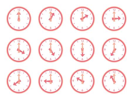 시계 핑크 많이