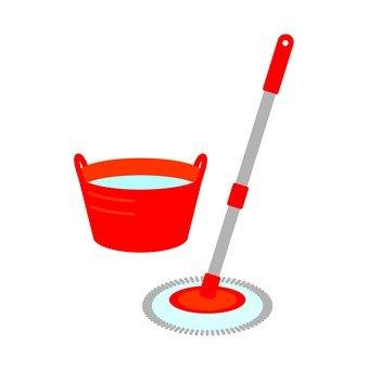 Rotating mop