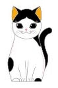 Hachi ware cat