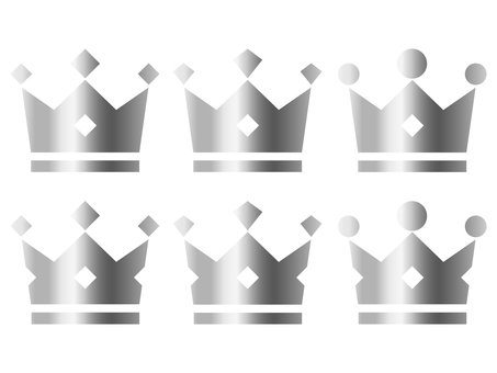 Crown Silver (Silver) 6 types