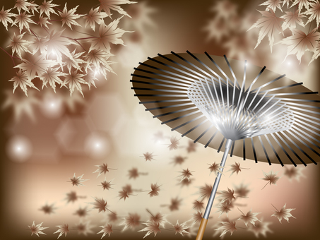 Maple _ and umbrella 3