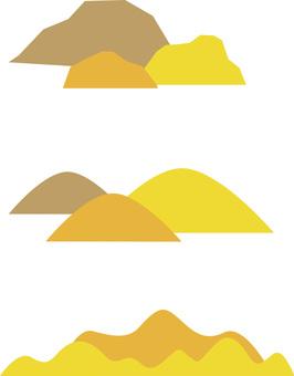 단풍 산 가을 산