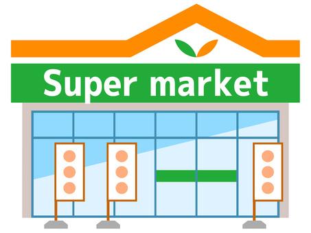 51117. Supermarkets