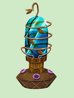 Bird feeder (for hummingbird)