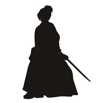 Samurai 4 (Silhouette)