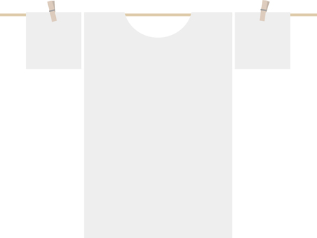 Laundry · hang · T-shirt
