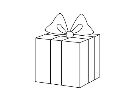 Present (line drawing)