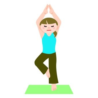 Female to do yoga 4