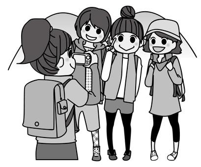 003登山女孩