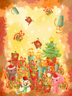 Christmas gifts shook