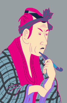 Fourth generation Mr. Koshiro Matsumoto colorful
