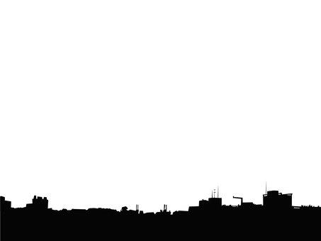 Design Silhouette townscape
