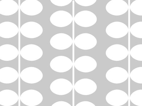 Nordic leaf simple wallpaper pattern 04
