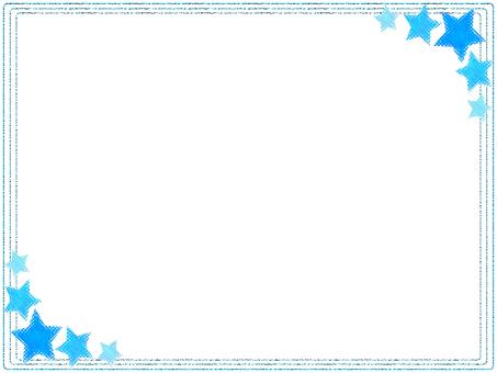 Star frame (Aqua)