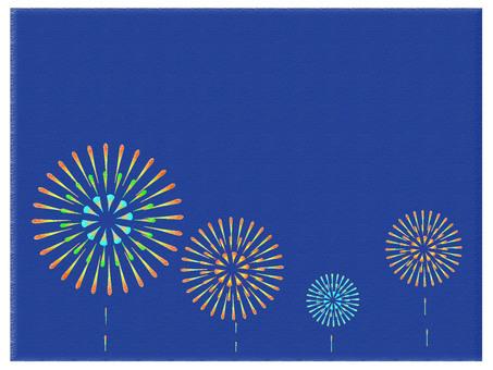 Faint fireworks