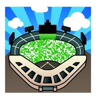 Illustration of a stadium
