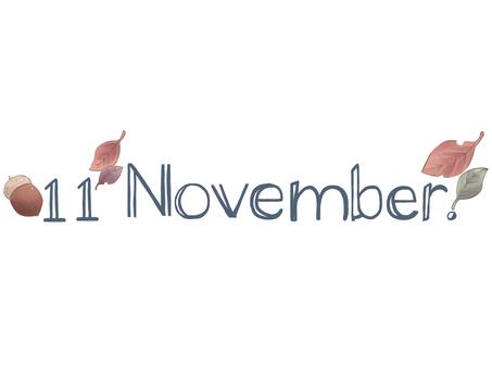 11月 November