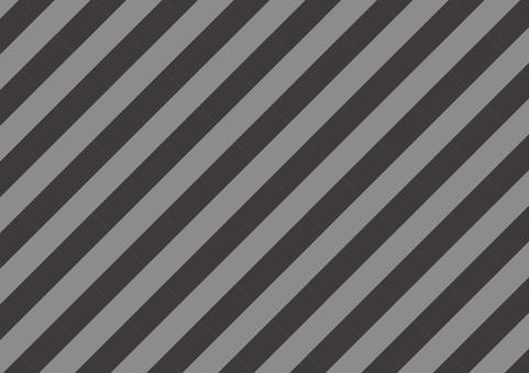 Naname粗條紋(灰色)