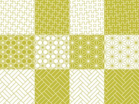 Japanese Pattern Pattern 12 Types