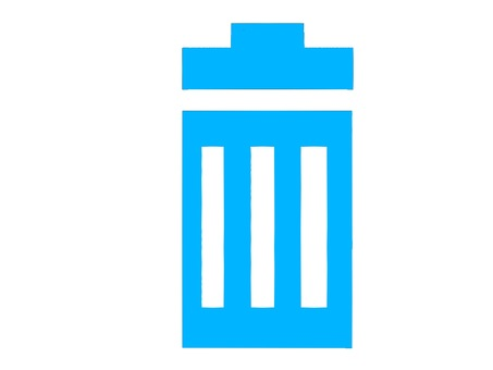 Icon trash can