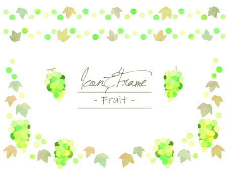 Natural frame material 67 Muscat