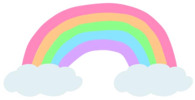 Rainbow (pastel)