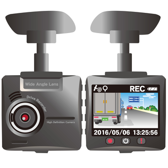 Drive recorder (front and back)