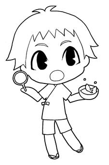 甚平‐男の子